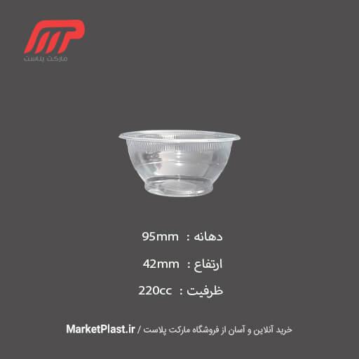 کاسه و سطل یکبار مصرف